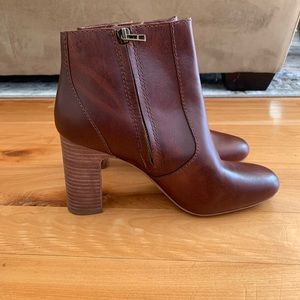Madewell leather booties. Size 9.